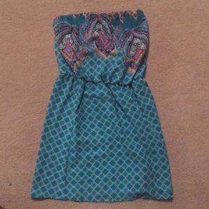 Xhilararion strapless dress